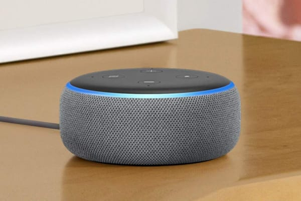Amazon Echo Dot (3rd Generation, Heather Grey)