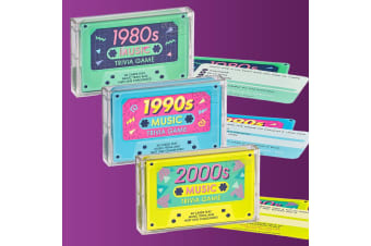 Music Trivia Game - 1980s, 1990s or 2000s - 1980s