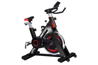 Everfit Spin Exercise Bike Cycling Flywheel Fitness Commercial Home Gym Black