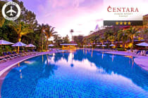 PHUKET: 8 Nights at the Centara Karon Resort Phuket Including Flights for Two