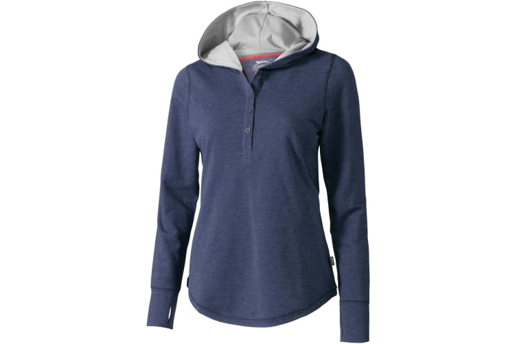 Slazenger Womens/Ladies Reflex Knit Hoodie (Heather Blue) (S)