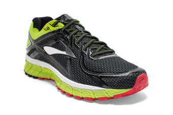 Brooks Men's Adrenaline GTS 16 Shoes (Black/Nightlife/Red)