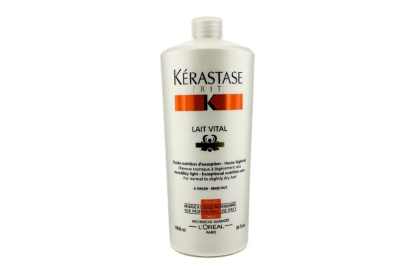 Kerastase Nutritive Lait Vital Incredibly Light - Exceptional Nutrition Care (For Normal to Slightly Dry Hair) (1000ml/34oz)