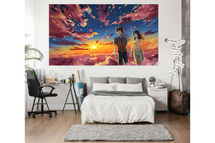 3D Your Name 41 Anime Wall Stickers Self-adhesive Vinyl, 260cm x 150cm(102.3'' x 59'') (WxH)