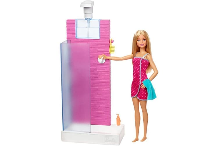 Barbie Shower and Doll Playset