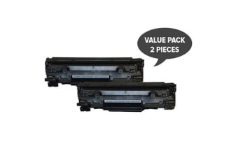 CE278A #78A Cart326 Premium Generic Toner (Two Pack)