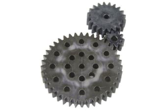 Worm Drive Set  three different spur gears
