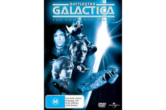 Battlestar Galactica The Complete Series DVD Region 4