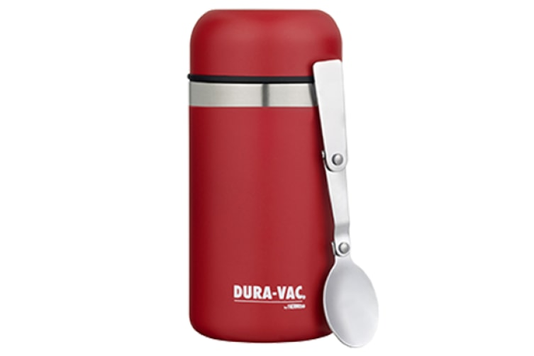 b0498d1034ab Thermos Duravac Vacuum Insulated Food Jar With Spoon 500ml - Red