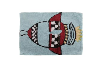 Mucky Fingers Childrens Boys Rocket Design Bedroom Floor Rug/Mat (Rocket)