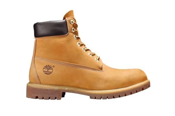"Timberland Men's 6"" Premium Boots (Wheat Yellow, Size 11 US)"
