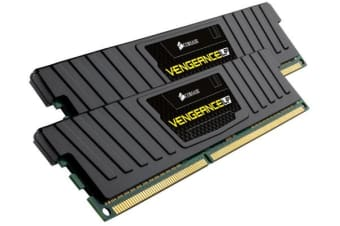 Corsair Vengeance LPX 8GB (2x4GB) DDR4 2400MHz C16 Desktop Gaming Memory Black