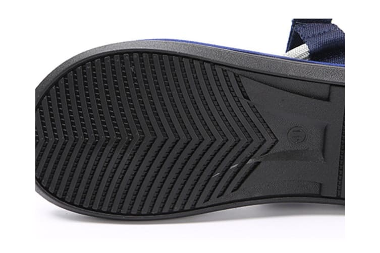 Summer Men'S Slippers Magic Paste Outdoor Couples Beach Flip-Flops Navy 39