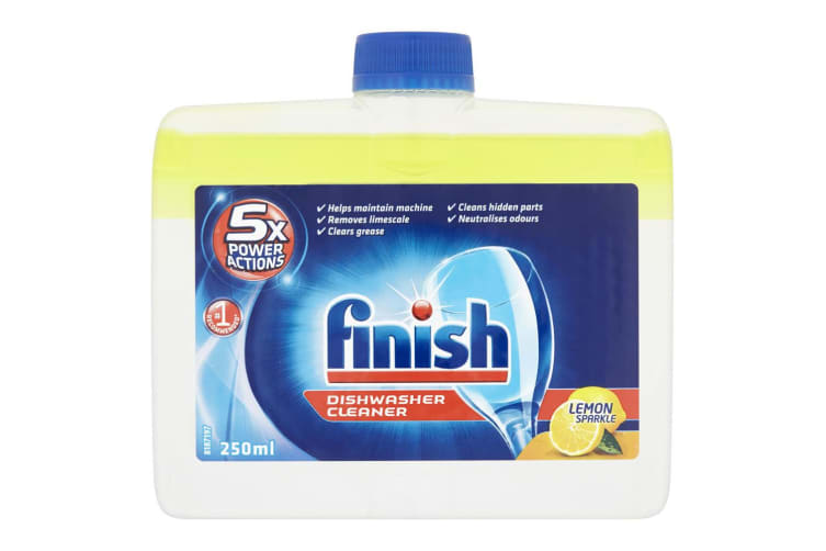 4PK Finish Dishwasher Monthly Cleaner/Remove Grease/Limescale - Lemon Sparkle