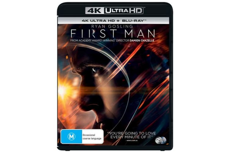 First Man 4K Ultra HD Blu-ray Digital Download UHD Region B