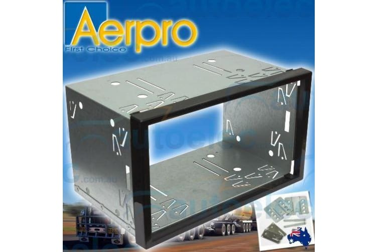 AERPRO UNIVERSAL FACIA TRIM SURROUND PANEL DOUBLE DIN STEREO CD DVD NAV FP953000