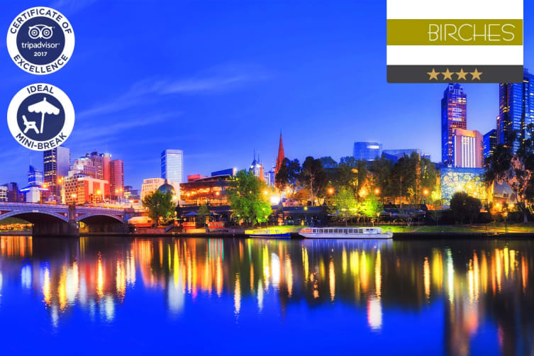 MELBOURNE: 1 Night at Birches Serviced Apartments for Two