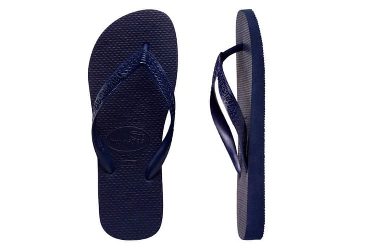 Havaianas Top Thongs (Navy Blue, Brazil 35/36)