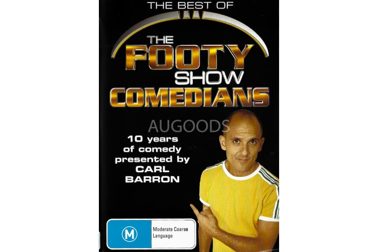 The Best of the Footy Show Comedians -Comedy Region All DVD PREOWNED: DISC LIKE NEW