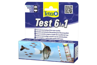 Tetra 6 In 1 Test Strips (Pack of 10) (May Vary)