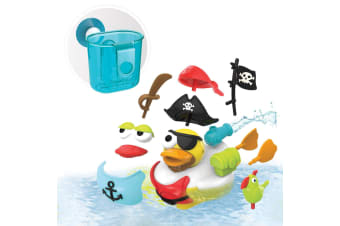 Yookidoo Jet Duck Create a Pirate Bath Toy