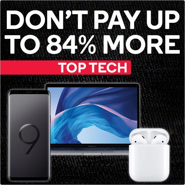 Black Friday - Top Tech