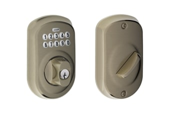Schlage Keypad Deadbolt with Plymouth Trim