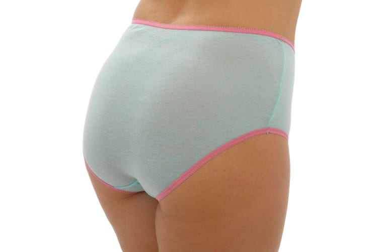 Anuci Womens Ladies Full Briefs (Pack Of 3) (Pack 3) (20-22 UK)