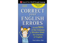 Correct Your English Errors, Second Edition