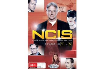 NCIS Seasons 1-5 Box Set DVD Region 4