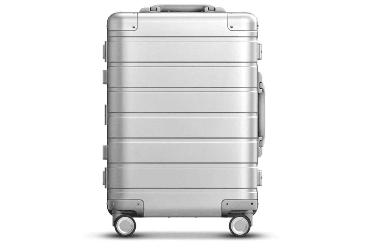 """Xiaomi 90 Fun 20"""" Metal Travel Luggage (Silver) built-in concealed design"""