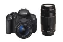 Canon EOS 700D DSLR Camera 18-55mm STM & 75-300mm Twin Lens Kit