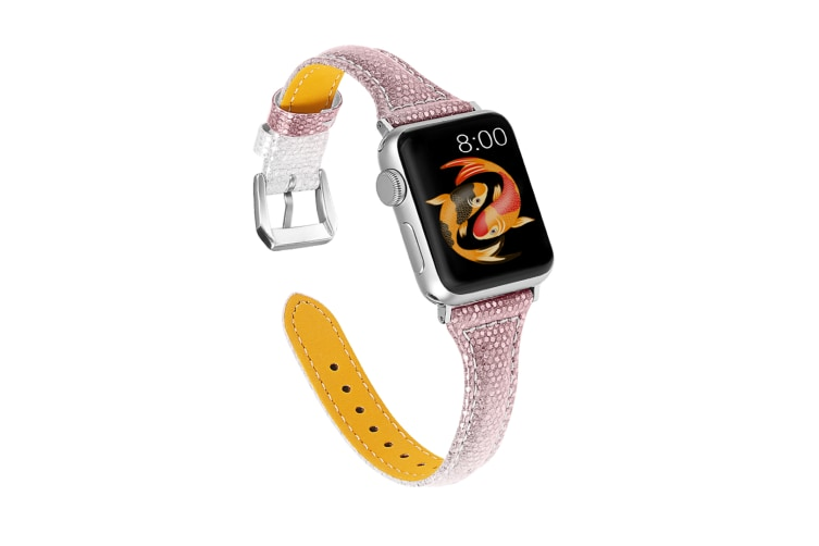 Select Mall Strap Bands Leather Replacement Leather Bands for Iwatch Bands for Apple Watch Series 5 4 3 2 1-42mm 44mm