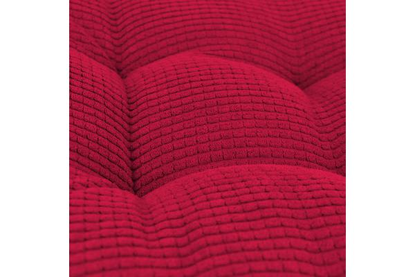 Soft Seat Back Cushion Square Chair Pad Sofa Mat RED