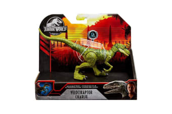Jurassic World Savage Strike Charlie Velociraptor