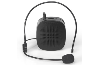 Multi-function Portable Little Bee Voice Amplifier Speaker with Wired Microphone