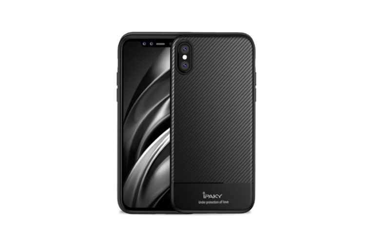 Protective Cover Case For Iphone Pattern Anti Fall Phone Cover Tpu Silicone Housing Black Phonexs