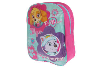 Paw Patrol Childrens/Kids Large Skye And Everest Rucksack (Fuchsia) (One Size)