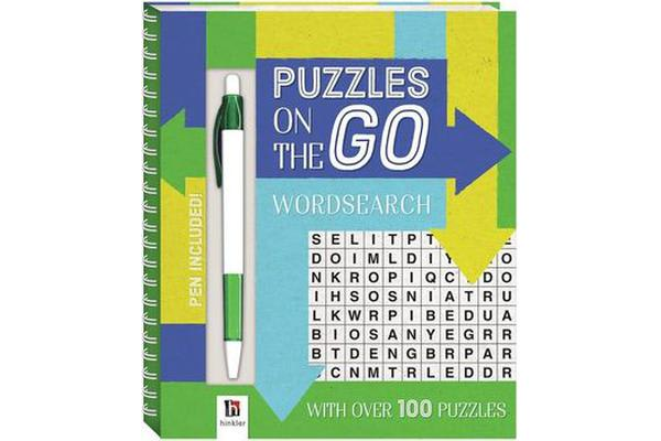Puzzles on the Go - Word Search 2 (series 7)
