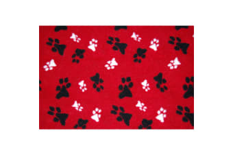 The Animate Company Outhwaites Fleece Blanket (Red)