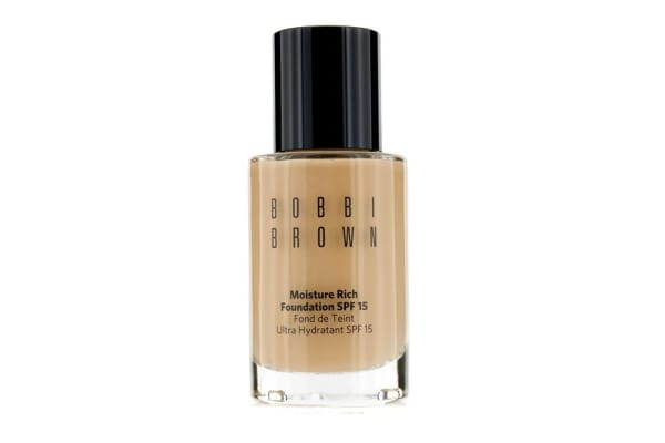 Bobbi Brown Moisture Rich Foundation SPF15 - #4 Natural (30ml/1oz)