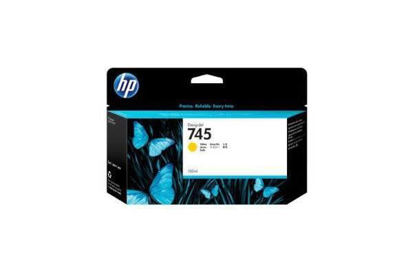HP INK CARTRIDGE NO 745 YELLOW 130ML
