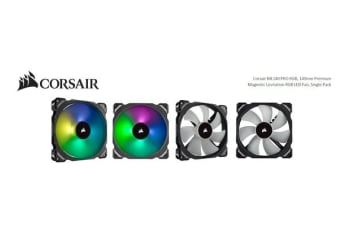Corsair ML140 PRO RGB, 140mm Premium Magnetic Levitation RGB LED PWM Fan, Single Pack
