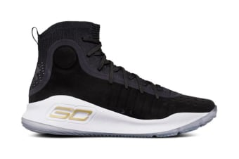 Under Armour Men's Curry 4 Special Edition Basketball Shoes (Black/Black, Size 10.5)