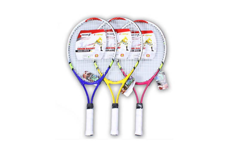 Tennis Racket For Training And Practice,Racquet For Kids 2Pcs Yellow