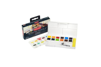 DERWENT ® INKTENSE PAINT PAN TRAVEL SET CD 12