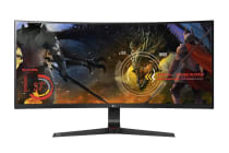 "LG 34"" 21:9 2560x1080 Full HD Curved UltraWide IPS LED Monitor with G-Sync (34UC89G)"
