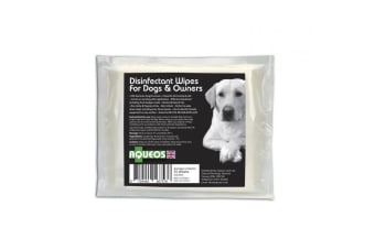 Aqueos Dog Sanitising Wipes Pouch (May Vary) (35 Wipes)