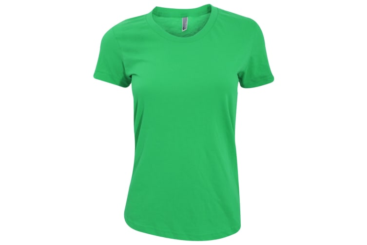 American Apparel Womens/Ladies Plain Short Sleeve T-Shirt (Kelly Green) (S)