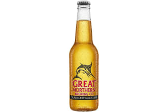 Great Northern Brewing Co Super Crisp Lager - BCF Promo Pack 330mL Case of 24